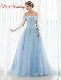 blue wedding dress light blue wedding dress s dresses for weddings svesty