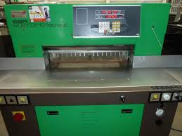 guillotines used finishing machines eba multicut 10 720 cnc gullotine