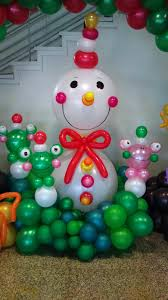 Home Balloon Decoration by Christmas Balloon Decorations Party Favors Ideas