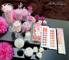 Bridal Shower Dessert Table Ombre Pink Dessert Table Bridal Wedding Shower Party Ideas Photo