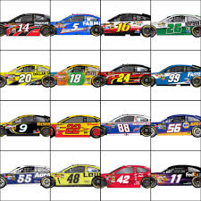 paint schemes sprint unlimited at daytona gen 6 nascar paint schemes u2013 the final lap