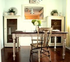 shabby chic farmhouse table and chairs dining room rustic with