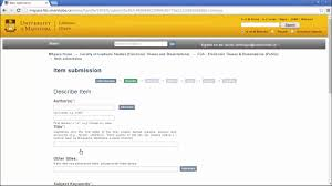 Electronic Thesis And Dissertation In Library And Information Science When Submitting Your Thesis To Mspace Youtube