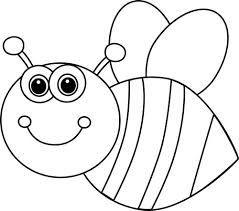 bee clipart bee clipart black and white png clipartxtras