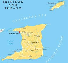 Trinidad World Map by Travel Guide Trinidad And Tobago