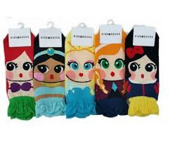 disney princess character socks mickey fix