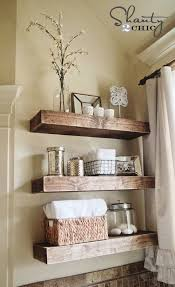 shelf ideas for bathroom impressing best bathroom shelf decor ideas on half shelves