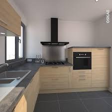 cuisine bois et gris cuisine en bois clair structura stilo 2017 et deco cuisine bois