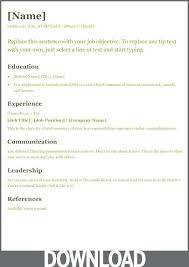 microsoft office resume u2013 inssite