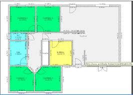 plan maison plain pied en l 4 chambres plan gratuit de maison plain pied 4 chambres avie home
