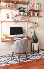 Bedroom Office Desk Bedroom Office Makeover The Reveal The Crafted Life