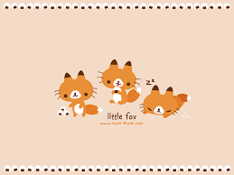 cute fall wallpaper backgrounds kawaii fox wallpaper wallpapersafari