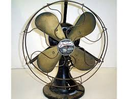peerless 12 antique desk fan