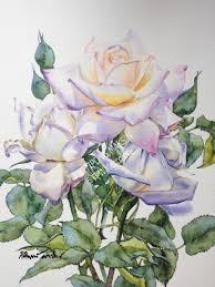 pin by kitipong maksin on roses watercolor paintings pinterest