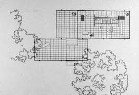 farnsworth house plan