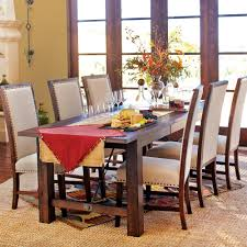 Pottery Barn Benchwright Collection by Wood Garner Extension Dining Table Rustic Elegance Spaces And Room