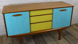 how i upcycled painted a retro sideboard using chalk paint youtube