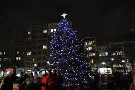 christmas tree lighting boston 2017 the 2017 copley square tree lighting in boston at boston city hall