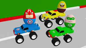 monster truck videos for kids youtube new 3d monster trucks toy factory surprise egg for children youtube