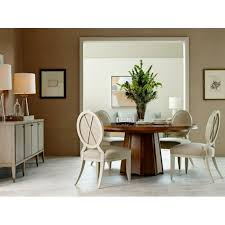 baker dining room chairs encircle dining table