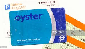 pre pay card london scuffed and well used tfl oyster pre pay