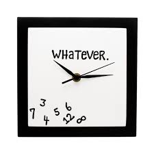 whatever clock wall novelty clock uncommongoods