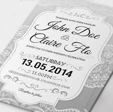 Free Sample Wedding Invitations Wedding Invitations Psd 23 Elegant Wedding Invitation Templates
