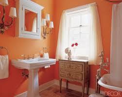 orange bathroom ideas cantaloupe color bathroom pair with leopard print vanity with