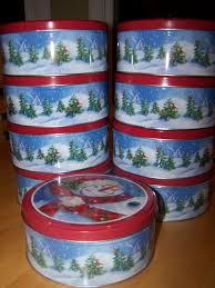 christmas tins ingenious christmas candy tins fresh empty cookie lights