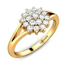 images of diamond rings diamond yellow gold 18k diamond ring candere
