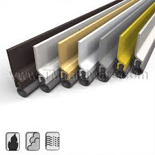 Exterior Door Seals High Quality Pemkoprene Silicone Or Eco V Meeting Stile For