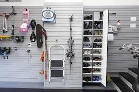 marvelous garage shoe storage designs ideas decofurnish tall wall garage shoe storage with double doors and floating tools organizers