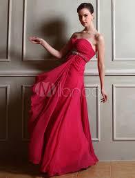 kleider fã r brautjungfer heißen rosa brautjungfer kleid stock länge kleid a linie perlen