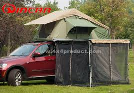 Diy 4wd Awning Roof Top Tent Trailer 4wd Camping Rack Pull Out Retractable 4x4
