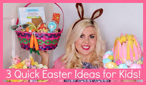 3 quick easter ideas for kids youtube