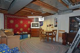 awesome partially finished basement ideas basements within half
