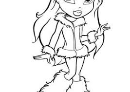bratz coloring pages coloring4free