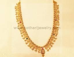 gold haram sets gold necklace 22kt gold haram andhra bridal haram