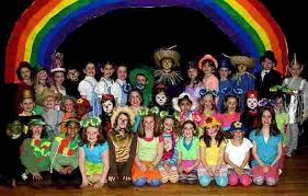 wizard of oz easy play script for to perform