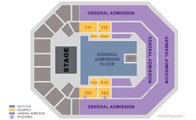 Ticketmaster Floor Plan U S Cellular Center Cedar Rapids Tickets Schedule Seating