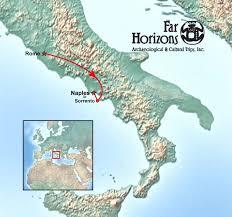 Pompeii Map Rome And Southern Italy Tour Far Horizons