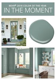 behr 2018 color of the year is in the moment pick a paint color