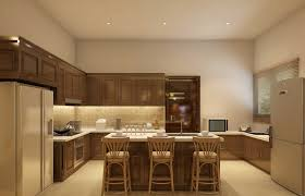 Kitchen With Pooja Room by Pristine Estates