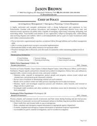 Law Enforcement Resume Template Municipal Police Officer Resume Sample Resumecompanion Com