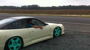 custom nissan 240sx 92 nissan 240 custom exhaust youtube