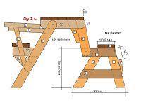folding picnic table bench plans pdf folding picnic table plans side elevation furniture made