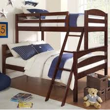 Espresso Bunk  Loft Beds Youll Love Wayfair - Espresso bunk bed