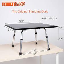 amazon com the original stand steady standing desk converts