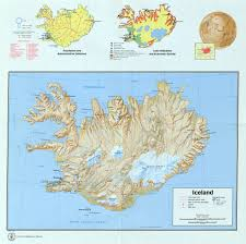 Iceland Map World Large Scale Detailed Country Profile Map Of Iceland 1973