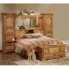 buy country heirloom bookcase headboard size king